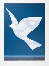 René Magritte - The Sky Bird (signed & numbered lithograph)