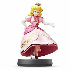 Nintendo Amiibo Peach Super Smash Bros. Series Figure for Wii U, 3DS