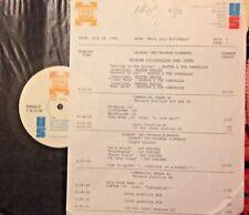 RADIO SHOW: 7/18/88 JULY B-DAYS! MARTHA REEVES, CAT STEVENS, PAUL ANKA, EAGLES