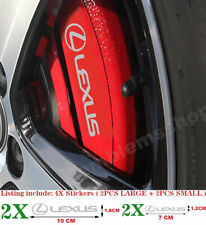 Compatible stickers adhesive stickers brake caliper for lexus 2jz is 250