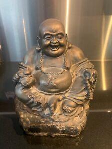 Bronze Laughing Buddha Mid. 1800's. (Chinese)