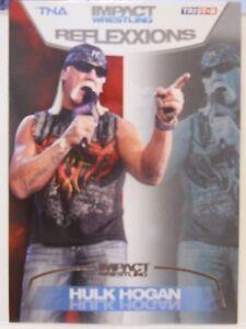 2012 TNA Impact Wrestling Reflexxions Hulk Hogan SP Silver Insert Card # 5 / 40