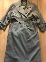 VINTAGE LONDON FOG WOMEN'S TRENCH RAINCOAT WITH REMOVABLE LINING SIZE 4 PETITE