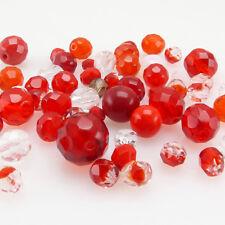 70 Kristallschliffperlen 4mm Mix Galvanisierte Electroplated Perlen BEST R44