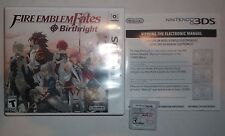 Fire Emblem Fates: Birthright (Nintendo 3DS, 2016) No Manual