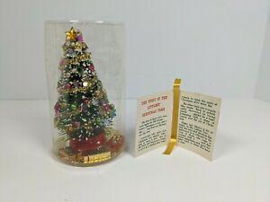 VINTAGE Grandmother Stover's Littlest Christmas Tree Bottle Brush Dime Store