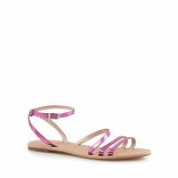 Faith - Pink 'Joan' Ankle Strap Sandals UK 6 EU 39 JS43 13