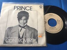 PRINCE - CONTROVERSY - HOLLAND 45 SINGLE