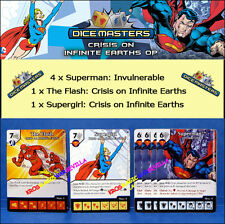 DC DICE MASTERS CRISIS ON INFINITE EARTHS OP KIT -Superman, The Flash, Supergirl