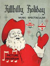 CARL PERKINS Hillbilly Holiday 1957 Souvenir Concert Program Faron Young