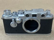 LEICA IIIF Red Dial Sel Timer Vintage Camera Body # 718738 - Clean & Working