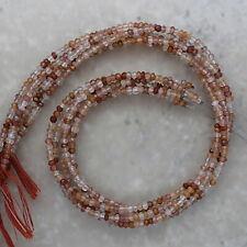 SALE...Brown Rutile Quartz Faceted Rondelle 3.25mm, Semi-Precious Gemstones