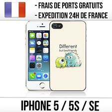 Coque iPhone 5 / 5S / SE - Monster inc. Best Friends