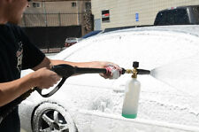Car Soap Pressure Washer Gun Dispenser Bubble sprayer Foam Lance Water Flow New