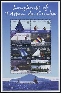 Tristan Da Cunha 685 MNH Longboats