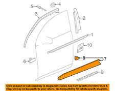 GMC GM OEM 10-16 Terrain Front Door-Lower Molding Trim Right 23134746