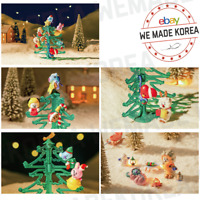 BT21 Character Christmas Tree Collection Figure Full Set Authentic K-POP Goods