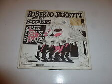"""ROBERTO JACKETTI & THE SCOOTERS - One Day's Enough - 1985 Dutch 7"""" Juke Box"""
