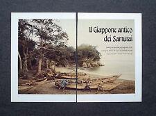 AL71 - Clipping-Ritaglio -1988- IL GIAPPONE DEI SAMURAI