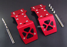 Alloy Front+Rear Skid Plate for HPI Mini Savage XS Flux