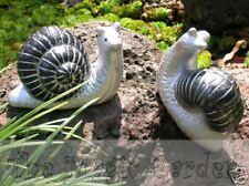 Cute snail  plaster concrete cement latex moulds molds