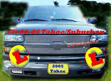 04 05 06 2006 2005 2004 04 Chevy Tahoe Suburban  Billet Grille 2PC