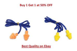 Industrial Earplugs Tracer Detectable Reusable Silicone Ear Plugs 33db UK Seller