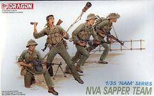 Dragon 1/35 3308 NVA Sapper Team (Vietnam War) (NAM Series) (4 Figures)