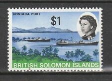 1968 SOLOMON ISLANDS $1 INTERNAL AIR SERVICE.   SG 179 U/MINT