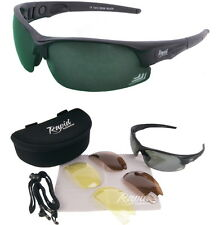 Mens SUNGLASSES FOR GOLF Polarised & Low Light Multi lens System. Scratch Golf