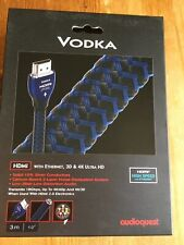 AudioQuest Vodka HDMI Cable 3m New