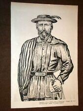 Giuseppe Garibaldi con la Camicia rossa a Montevideo + Il Cerro a Montevideo