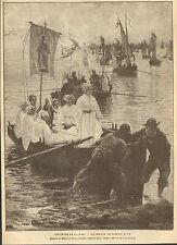 BRETAGNE PARDON DE SAINTE-ANNE FETES DE LA MER ARTICLE PRESSE 1901