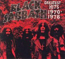 BLACK SABBATH-GREATEST HITS 1970-1978 CD