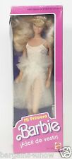 1988 MY FIRST BARBIE EASY TO DRESS MI PRIMERA FOREIGN VERSION SEALED NEW