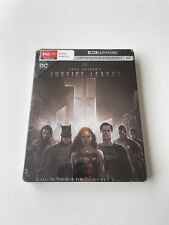 Zack Snyders Justice League Steelbook 4k Ultra HD Limited Edition Post