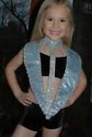 Black and silver  custom competition dance costume CXS/S pageant