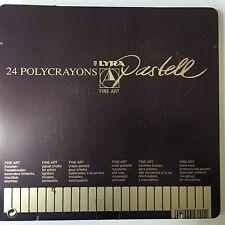 Lyra Polycrayons Pastell - 24 piece set - New