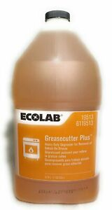 ECOLAB Greasecutter Plus Heavy Duty Degreaser-1 Gallon