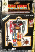 DIE/CAST ROBOT VINTAGE 80-GOLION GO LION + VOLTRON  leoni,shogun warrior,gx,popy