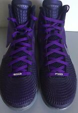 NIKE ZOOM HYPERDUNK 2011 Supreme Club Purple ImperIal Purple Cool Gray Shoes 15