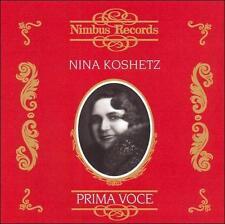 Prima Voce: Nina Koshetz: Complete Victor Schirmer, New Music