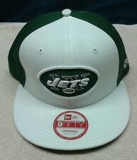 ~NEW~ MENS NEW YORK JETS MEDIUM/LARGE 9FIFTY SNAPBACK NEW ERA HAT/CAP~