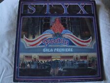 STYX PARADISE THEATRE VINYL LP 1981 A & M RECORDS TOO MUCH TIME ON MY HANDS VG+