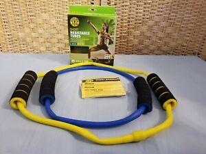 Golds Gym Short Resistance Tube - Medium Resistance Build Strength & Tone