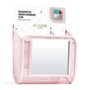 UBRANDS Locker Style Magnetic Locker Mesh Mirror Cup