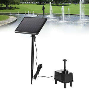 1.5W Solar Water Pump Submersible For Outdoor Garden Fountain Fish Tank Pond