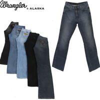 Vintage Wrangler Alaska Mens Classic Fit, Straight Jeans 26 in. 44 in.