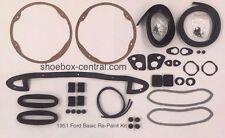 1951 Ford Shoebox Car Basic Re-Paint Kit