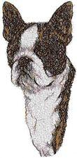 Embroidered Sweatshirt - Boston Terrier Aed14284 Sizes S - Xxl